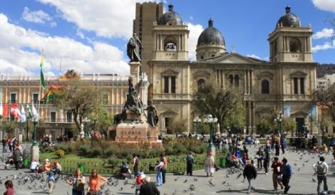 Πλατεία La Paz,Βολιβία