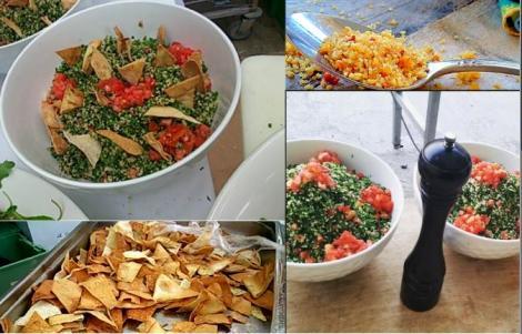 Ταμπουλέ: σαλάτα με πλιγούρι και αρωματισμένα λαχανικά
