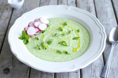 Κρύα σούπα αβοκάντο