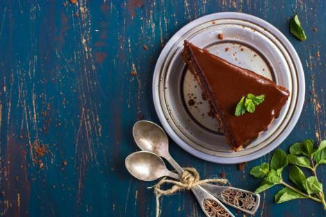 Σοκολατόπιτα με γκανάζ σοκολάτας